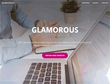 Tablet Preview of glamorous.be